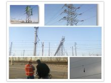 Laser obstacle removal applicated on power line transmission maintenance